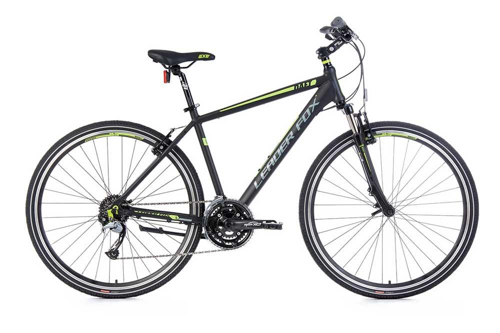 Bicicleta cross Leader Fox DAFT gent 2017