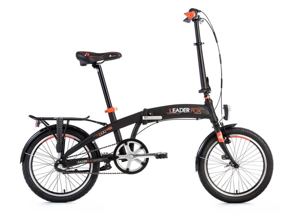 PROMO: Bicicleta pliabila Leader Fox DIXI 18″