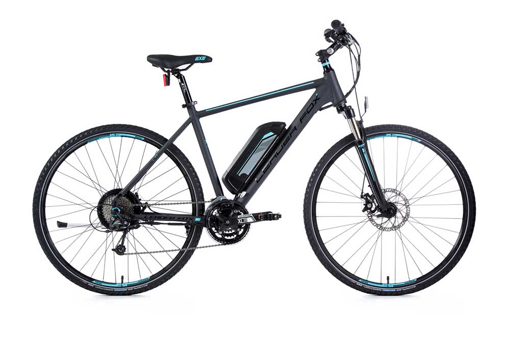 Bicicleta electrica cross Leader Fox PARANA Gent 2017
