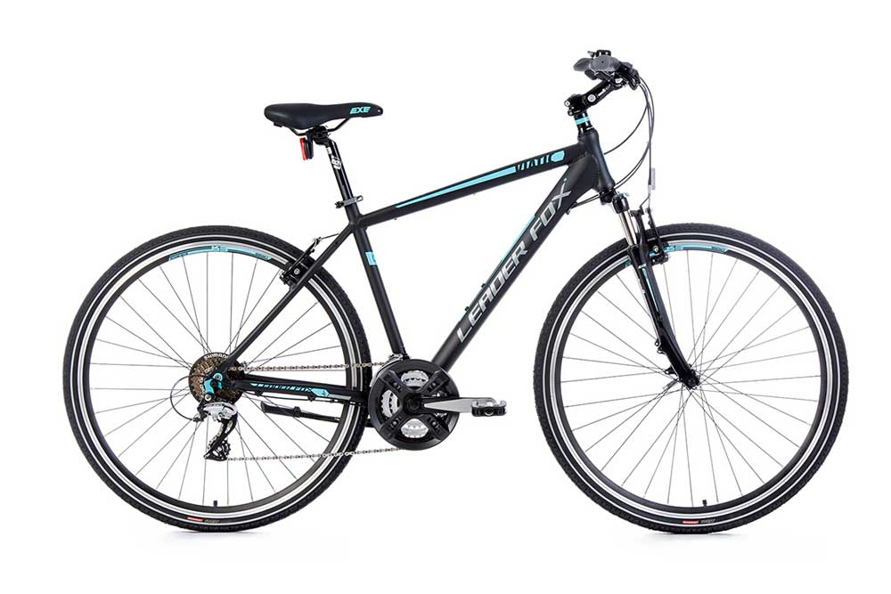 Bicicleta cross Leader Fox VIATIC gent 2017