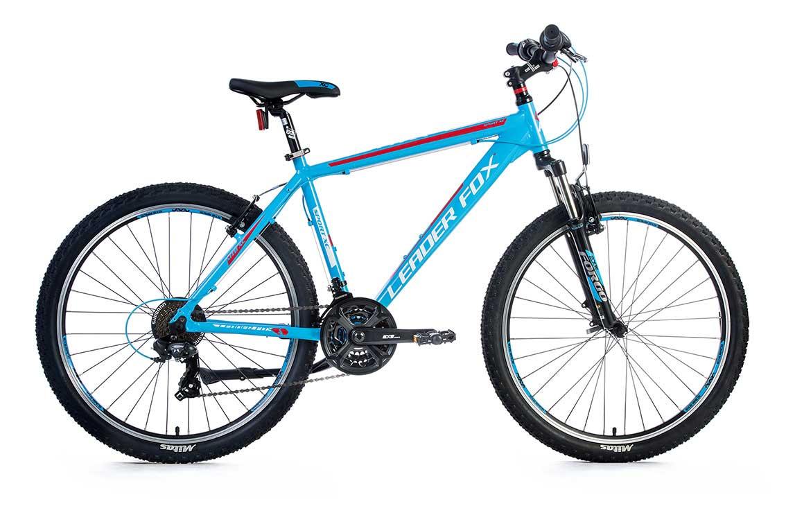 Bicicleta MTB Leader Fox MXC Gent, 21 viteze, suspensie, franta Tektro